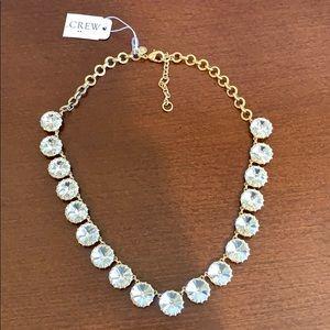 J. Crew diamond necklace.